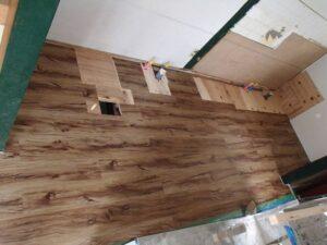 アパート台所改修工事